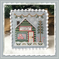 Country Cottage Needleworks - Snow Village - Part 4 - Peppermint Parlor