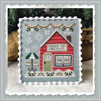 Country Cottage Needleworks - Snow Village - Part 5 - Frozen Hot Chocolate Shop
