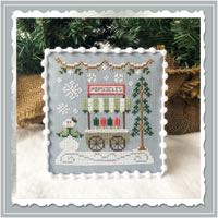 Country Cottage Needleworks - Snow Village - Part 6 - Popsicle Cart