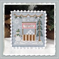 Country Cottage Needleworks - Snow Village - Part 8 - Snowball Stand