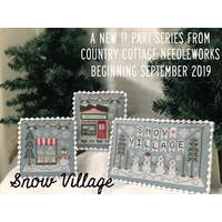 Country Cottage Needleworks' Snow Village Project of the Month Club