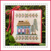 Country Cottage Needleworks - Welcome to the Forest - Part 4 - Blue Forest Cottage