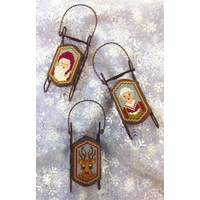Foxwood Crossings - Sled Ornaments - Sled Heads