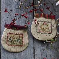 Hatched and Patched - Christmas Stamp Pockets