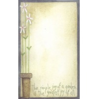 Joy of a Garden Notepad