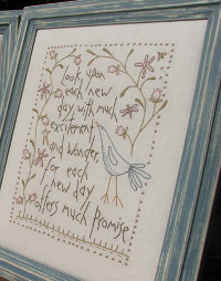 Hatched and Patched - New Day Stitchery