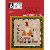 Heart in Hand Needleart - Santa 2018 (Wee One)