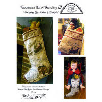 Homespun Elegance - Cinnamon Stick Stocking III (IV)