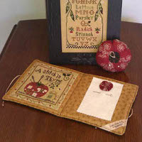Fresh from the Garden - Needlebook and Pincushion