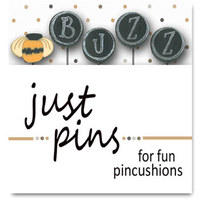 Just Another Button Company - Block Party - Buzz Pins