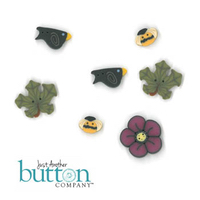 Just Another Button Company - Shepherd's Bush Pumpkin Harvest Button Pack