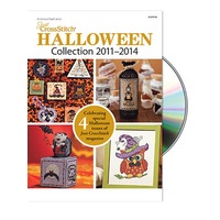 Just Cross Stitch Magazine - Halloween Collection 2011-2014 DVD