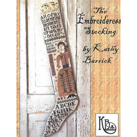 Kathy Barrick - The Embroideress Stocking