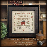 Little House Needleworks - Home of a Needleworker, Squared