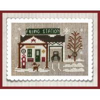 Little House Needleworks - Hometown Holiday - Pop's Filling Station