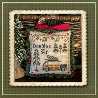 Little House Needleworks - Jack Frost Tree Farm 2 - Douglas Fir