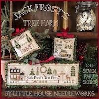 Little House Needleworks' Jack Frost's Tree Farm Project of the Month Club