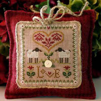 Little House Needleworks - Little Sheep Virtues #2 - Love
