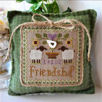 Little House Needleworks - Little Sheep Virtues #9 - Friendship