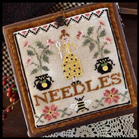 Little House Needleworks - Pretty in Perle - Needle Lady Pocket
