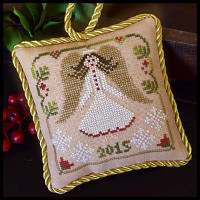 Little House Needleworks - Sampler Tree 12 - Christmas Angel