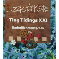 Lizzie*Kate - Tiny Tidings XXI Embellishment Pack