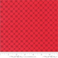 Moda - Just Another Walk in the Woods - Tiles Red 20526-12