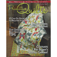 Primitive Quilts and Projects - Summer 2017
