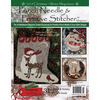 Punch Needle and Primitive Stitcher - Christmas Winter Mega 2019
