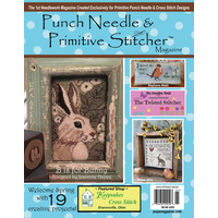 Punch Needle and Primitive Stitcher - Spring 2019