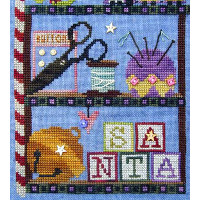 SamSarah Design Studio - Santa's Cabinet - Mending Kit