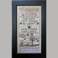 Shakespeare's Peddler - Jenny Bean's Creation Sampler