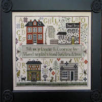 Shakespeare's Peddler - Jenny Bean's Friendship Sampler