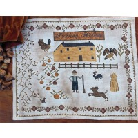 Stacy Nash Primitives - Houses of Berry's Chapel Road - Turkey Hollow Farm