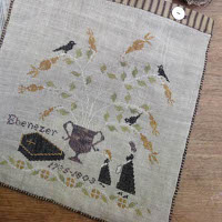 Stacy Nash Primitives - Mourning Tree Sewing Bag