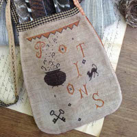 Stacy Nash Primitives - Potions Sewing Pouch