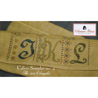 Summer House Stitche Workes - Calico Sampler #4 - JKL