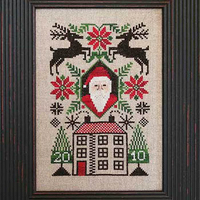 The Prairie Schooler - 2010 Limited Edition Santa - Santa's House