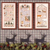 The Prairie Schooler - Christmas Samplers