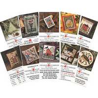 The Prairie Schooler - Mini Card Collection C - Garden Samplers