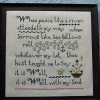 The Sampler Girl - Hymn Sampler 2 - It Is Well With my Soul
