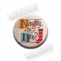 Zappy Dots - Lizzie Kate Naughty or Nice Needle Nanny