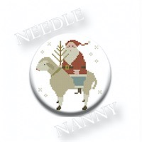 Zappy Dots - With Thy Needle - German Santa Needle Nanny