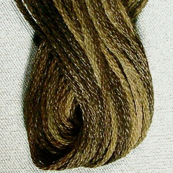 Valdani - 6-Ply - Blackened Khaki Brown (O548)