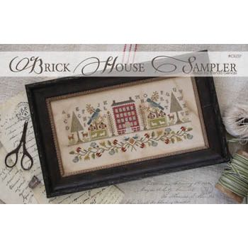 With Thy Needle and Thread - Brick House Sampler
