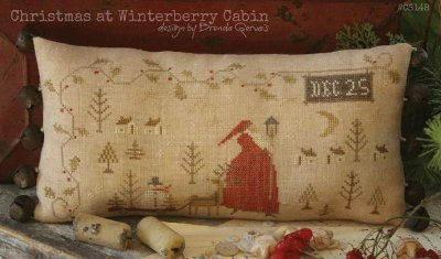 With Thy Needle and Thread - Christmas at Winterberry Cabin