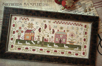 With Thy Needle and Thread - Shepherd's Sampler